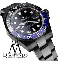 Rolex Gmt Master Ii Batman 116 Black Dial & Black And Blue...