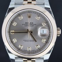 Rolex Datejust II Gold/Steel Jubilee Strap Pink Diamond Dial,41MM