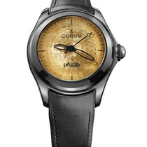 Corum 110.310.98/0061 PA01R Bubble XL in Steel with Black PVD...