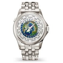 Patek Philippe 39.5mm Automatic new World Time White