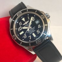Breitling SuperOcean Black And Silver Dial 42MM A17364