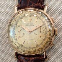Rolex Chronograph Vintage  oro 4062 Expertise