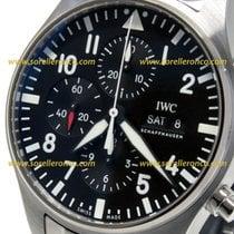 IWC Pilot Chronograph IW377710 IWC Aviatore Chronografo Automatico Nero + Datario nov