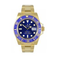 Rolex Submariner Blue 18 K Yellow Gold 116618LB