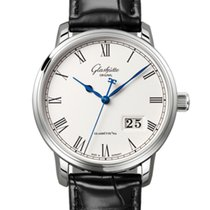 Glashütte Original Automatic Silver new Senator Panorama Date