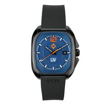 Liv Watches Limited Edition Rebel-A Black IP Swiss Made...