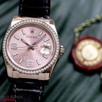 Rolex Datejust 36mm Ref-116189 18k White Gold Rolex Diamond...