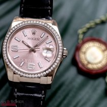 Rolex Datejust 36mm Ref-116189 18k White Gold Rolex Diamond...