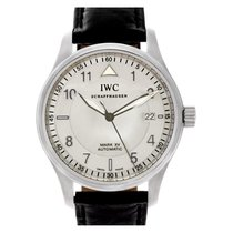 IWC Mark XV IW325309 stainless steel Silver dial 38mm auto watch
