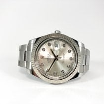 Rolex Datejust II Fullset 2012 41mm Factory Diamond Dial