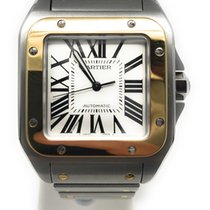 Cartier Gold/Steel 39.8mm Automatic W2SA0006 pre-owned