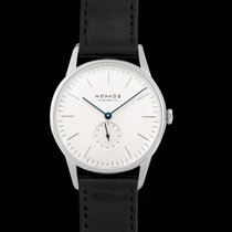 NOMOS Orion 38 Steel 38mm White United States of America, California, San Mateo