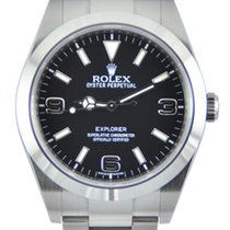 Rolex Explorer Steel 39mm Black Arabic numerals United Kingdom, Manchester