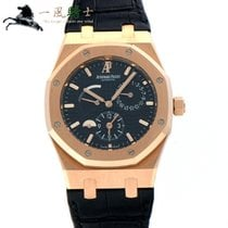 Audemars Piguet 26120OR.OO.D002CR.01 Rose gold Royal Oak Dual Time 39mm pre-owned