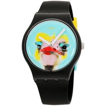 Swatch Plastic 41mm Quartz SUOB159 new United States of America, New York, Brooklyn
