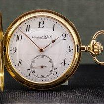 IWC Relógio usado Ouro amarelo 51mm Árabes Corda manual Só o relógio