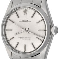 Rolex Oyster Perpetual 34 Steel 33mm Silver No numerals United States of America, Texas, Dallas