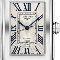 Longines DolceVita Steel 27.70mm Silver Roman numerals