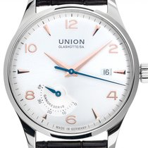 Union Glashütte Steel Automatic Silver Arabic numerals 40mm new Noramis Power Reserve