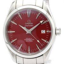 Omega Seamaster Steel 39mm Red