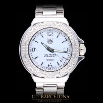 TAG Heuer Formula 1 Lady Steel White