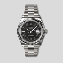 Rolex Steel Grey 41mm pre-owned Datejust