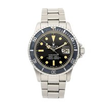 Rolex Submariner Date occasion 40mm Noir Date Plis