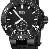 Oris Aquis Titan new Automatic Watch with original box and original papers 01 739 7674 7754 07 4 26 34BTE