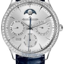Jaeger-LeCoultre Master Ultra Thin Perpetual White gold 39mm Silver United States of America, New York, Airmont