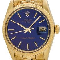 Rolex Oyster Perpetual Date ref 15037 14K YG circa 1986