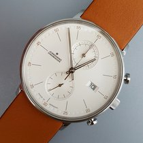 Junghans FORM C Steel 40mm White No numerals