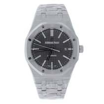 Audemars Piguet Royal Oak 41mm Stainless Steel Grey Dial Watch
