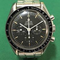 歐米茄 (Omega) Speedmaster 145.022 Chronograph Black Dial with SS...