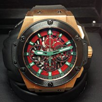 Hublot Red gold Automatic pre-owned King Power