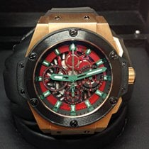 Hublot King Power pre-owned Red gold