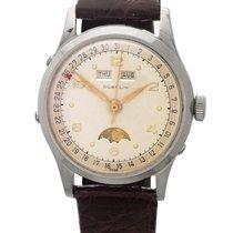 Gübelin | A Stainless Steel Triple Calendar Wristwatch With...