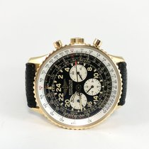 Breitling Navitimer Cosmonaute pre-owned 41,5mm Yellow gold
