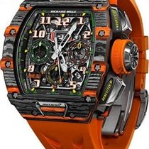 Richard Mille RM 011 Carbono 50mm Transparente Árabes