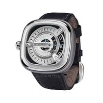 Sevenfriday Stahl 47mm Automatik M1-1 neu Schweiz, HELVETIC TIME AG - Bäch -  NO Duties & Taxes For European Customers - Discount VAT for Extra UE