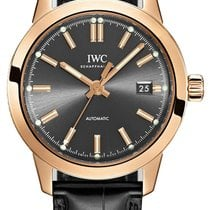 IWC Rose gold Automatic Grey No numerals 40mm new Ingenieur Automatic
