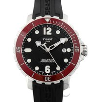Tissot Ceramic Automatic Black new Seastar 1000