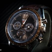 Omega Speedmaster Broad Arrow Acero y oro