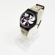 Swatch Titanium Quartz Black Arabic numerals 34mm pre-owned