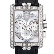 Harry Winston new Automatic 32mm White gold Sapphire Glass