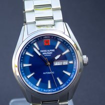 Grovana Steel 43mm Automatic 7090.2135SAM new