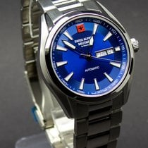 Grovana new Automatic Display Back 43mm Steel Sapphire crystal