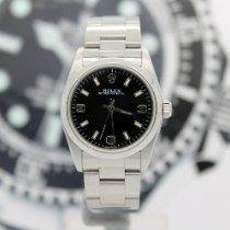 Rolex Oyster Perpetual 31 Acier 31mm Noir Sans chiffres