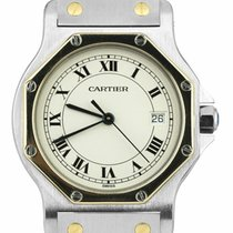 Cartier Gold/Steel 29mm Quartz 187902 pre-owned