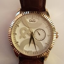 Dolce & Gabbana Steel 44mm Quartz pre-owned