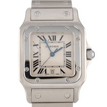 Cartier Santos Galbée Steel 29mm Champagne Roman numerals United States of America, New Hampshire, Nashua